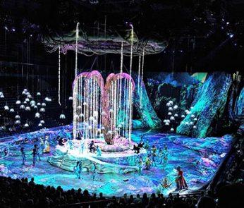 Cirque du soleil Toruk Unipol Arena Bologna